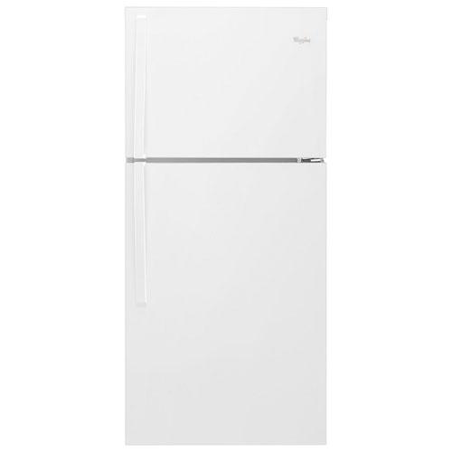 """Whirlpool 30"""" 19.2 Cu. Ft. Top Freezer Refrigerator (WRT519SZDW) - White"""