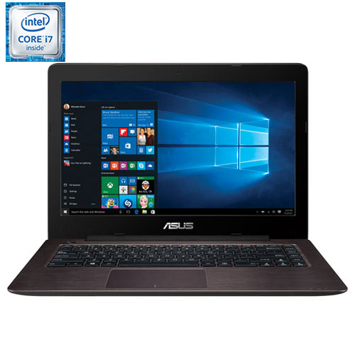 "ASUS X456UV 14"" Laptop - Dark Brown (Intel Dual-Core i7-6500U/1TB HDD/12GB RAM/Windows 10)"