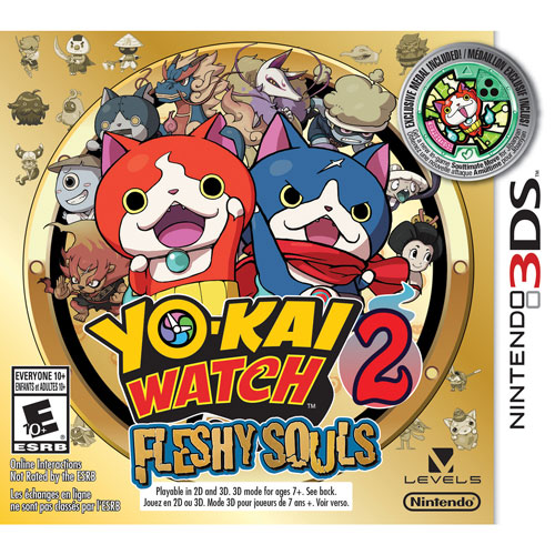 Yo-kai Watch 2 : Fleshy Souls (3DS)