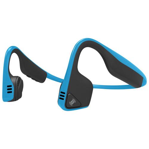 AfterShokz Trekz Titanium On-Ear Bone Conduction Wireless Headphones (AS600B) - Blue