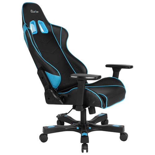 Clutch Chairz Crank Delta Gaming Chair - Blue/Black