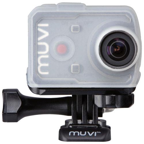 Protecteur ajusté pour caméra MUVI K de Veho (VCC-A044-KSC) - Paquet de 4 - Couleurs variées