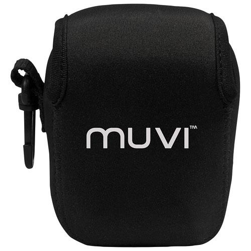 Sac en néoprène pour caméra MUVI K de Veho (VCC-A050-KWB) - Grand - Noir