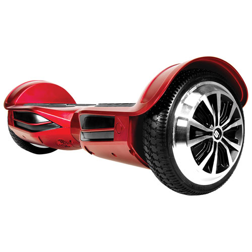 hoverboards and skateboards