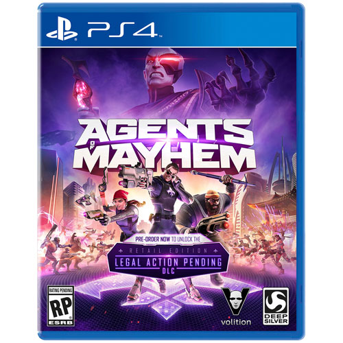 Agents of Mayhem: Édition Day One (PS4)