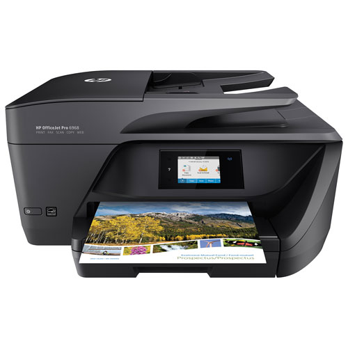 HP OfficeJet Pro 6968 All-in-One Inkjet Printer with Fax