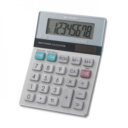 Sharp EL310TB Mini Desktop Display Calculator