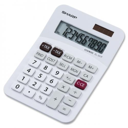 Sharp EL331FB Semi-Desktop Calculator