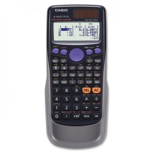 Casio FX-300ESPLUS 10-Digit 2-Line Scientific Calculator