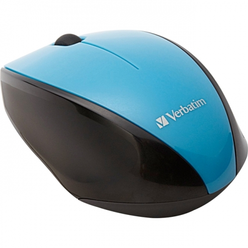 Verbatim Wireless Notebook Multi-Trac Blue LED Mouse - Blue