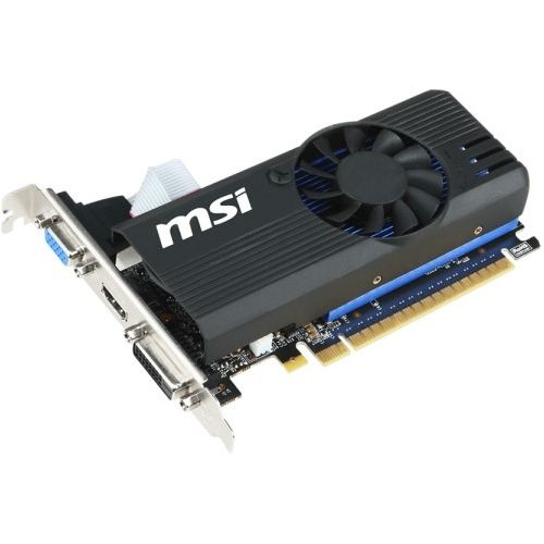 MSI N730K-2GD5LP/OC GeForce GT 730 Graphic Card - 1.01 GHz Core - 2 GB GDDR5 SDRAM - PCI Express 2.0 x16 - Low-profile