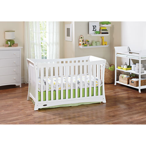 graco tatum 4in1 convertible crib white baby cribs best buy canada - White Baby Crib