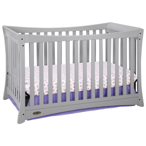 Graco Tatum 4 In 1 Convertible Crib Pebble Grey Baby Cribs Best