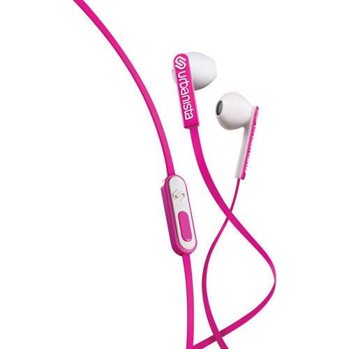 Urbanista San Francisco ErgonoMic In-Ear Headphones with Mic - Pink