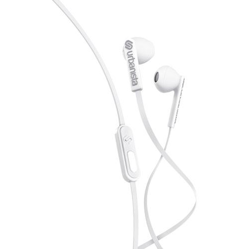 Urbanista San Francisco ErgonoMic In-Ear Headphones with Mic - White