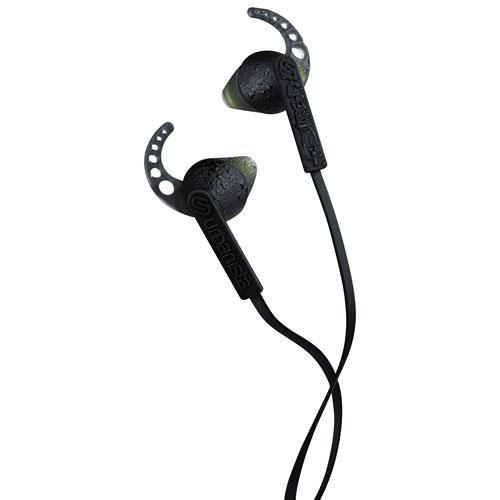 Urbanista Rio In-Ear Sport Headphones with GoFit, Remote & Mic - Black