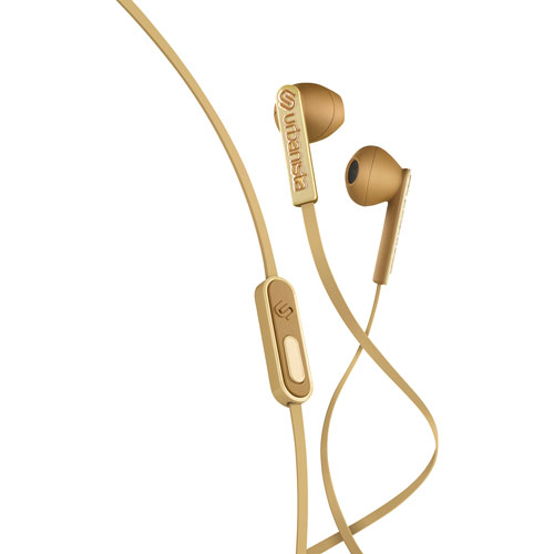 Urbanista San Francisco ErgonoMic In-Ear Headphones with Mic - Gold