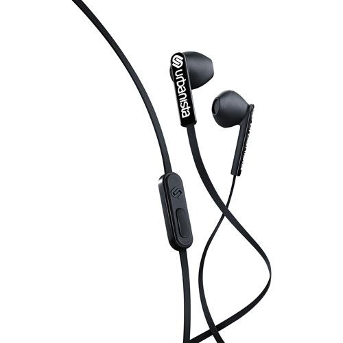 Urbanista San Francisco ErgonoMic In-Ear Headphones with Mic - Black