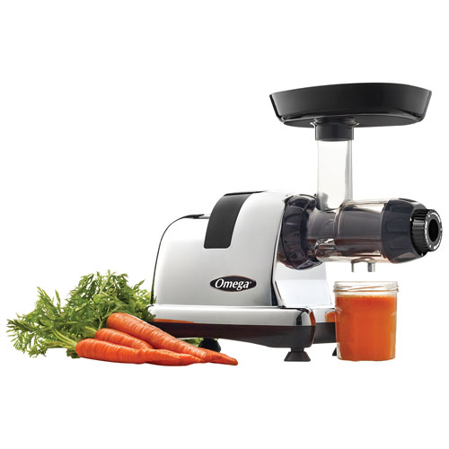 Slow Juicer Nutrition : Omega 8008 Nutrition System Slow Juicer (J8008C) : Juicers - Best Buy Canada