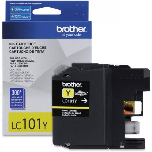 Brother Innobella LC101YS Ink Cartridge - Yellow