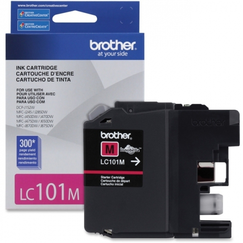 Brother Innobella LC101MS Ink Cartridge - Magenta