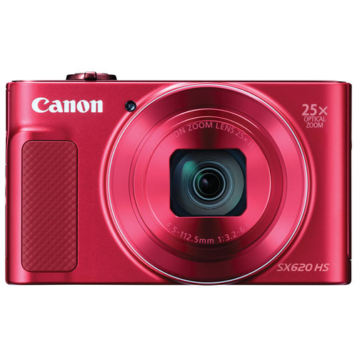 Canon Powershot Sx620 Hs Wifi 20 2mp 25x Optical Zoom Digital Camera Red Point And Shoot