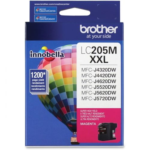 Brother Innobella LC205MS Ink Cartridge - Magenta