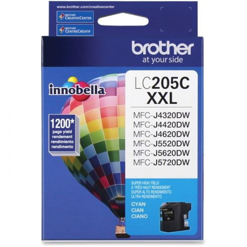 Brother Innobella LC205CS Ink Cartridge - Cyan