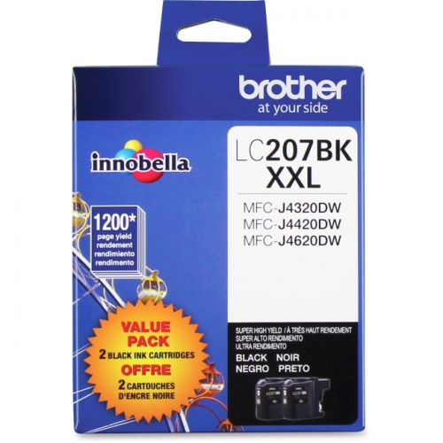 Brother Innobella LC207BKS Ink Cartridge - Black