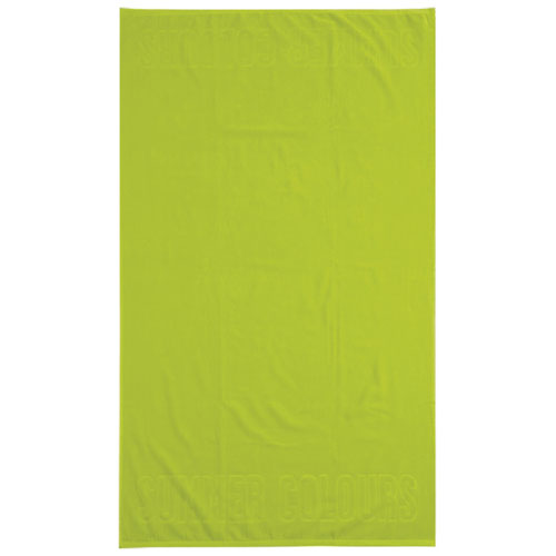 Graccioza Summer 2-Piece Beach Towel - Lime