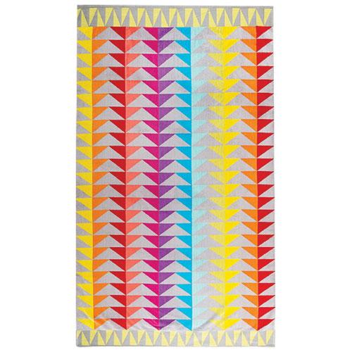 Graccioza Block 2-Piece Beach Towel - Bright