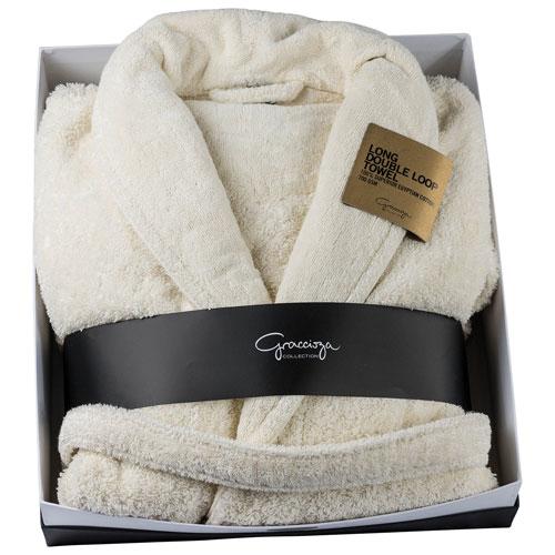 Graccioza Bath Robe - Large - Natural