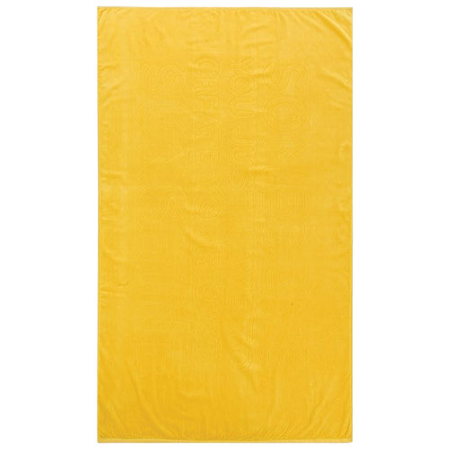 Graccioza Sunshine 2-Piece Beach Towel - Yellow