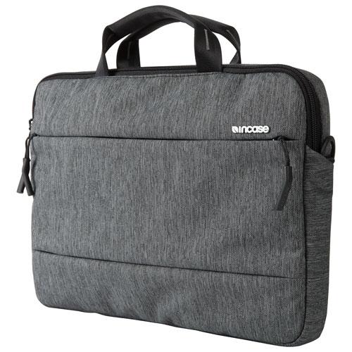 Sac à bandoulière d'Incase pour MacBook Pro de 15 po - Noir chiné - Gris industriel