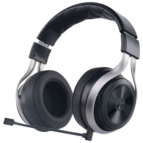 Lucid Sound Over-Ear Sound Isolating Wireless Gaming Headset - Black