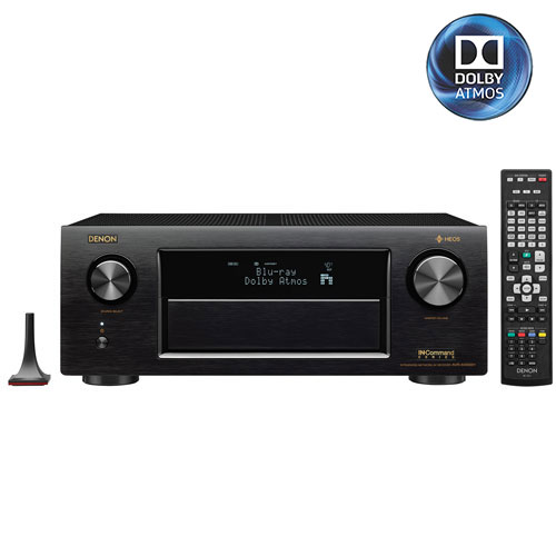 Denon AVR-X4300H 125-Watt 9.2 Channel 3D 4K Ultra HD Atmos Network AV Receiver