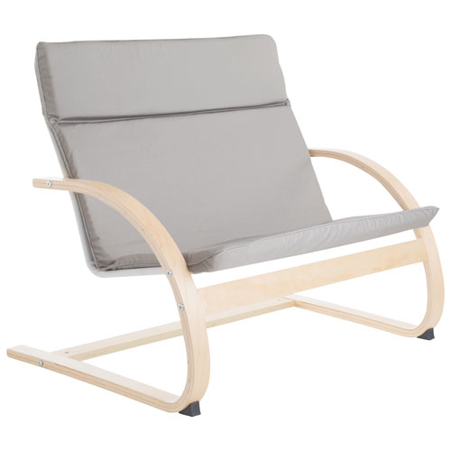 Fauteuil traditionnel Nordic Rocker de Guidecraft - Gris ...