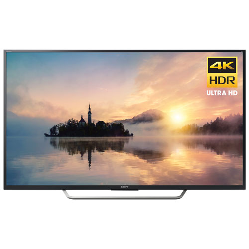 Téléviseur intelligent Android DEL HDR UHD 4K de 49 po de Sony (XBR49X700D)