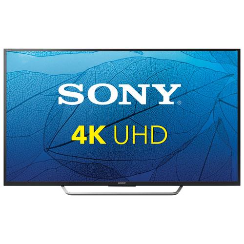 Téléviseur intelligent Android DEL HDR UHD 4K XBR65X750D de 65 po de Sony