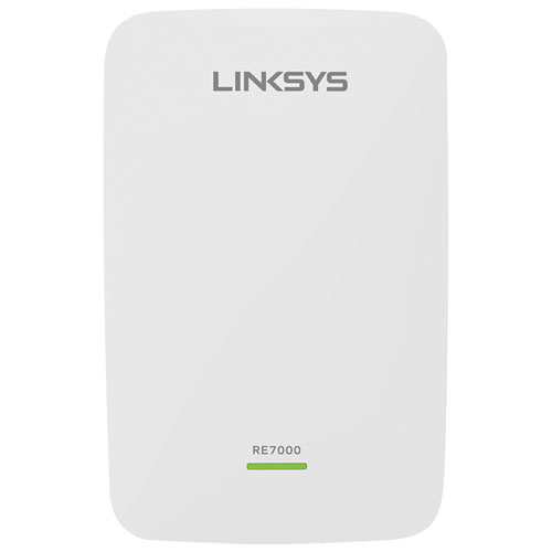 Linksys Max-Stream AC1900+ Wi-Fi Range Extender (RE7000-CA) - White