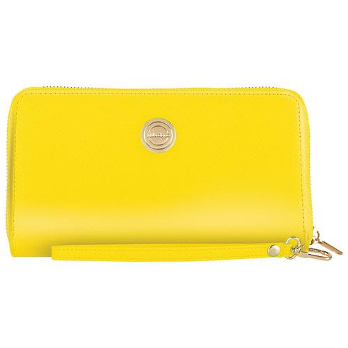 Catherine Malandrino Spade Universal Smartphone Wristlet - Yellow