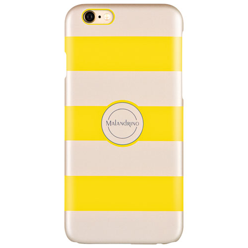 Catherine Malandrino iPhone 6/6s Fitted Hard Shell Case - Yellow