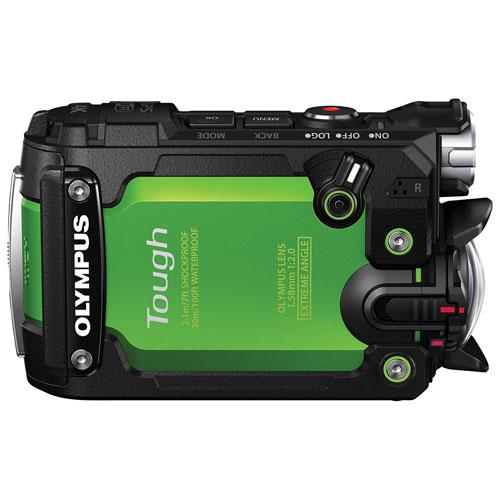 Olympus Tough TG-Tracker 8MP Action Camera (V104180EU000) - Green