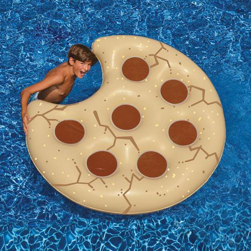 Matelas gonflable de 60 po en forme de biscuit de swimline havane brun sports aquatiques et - Walmart matelas gonflable ...