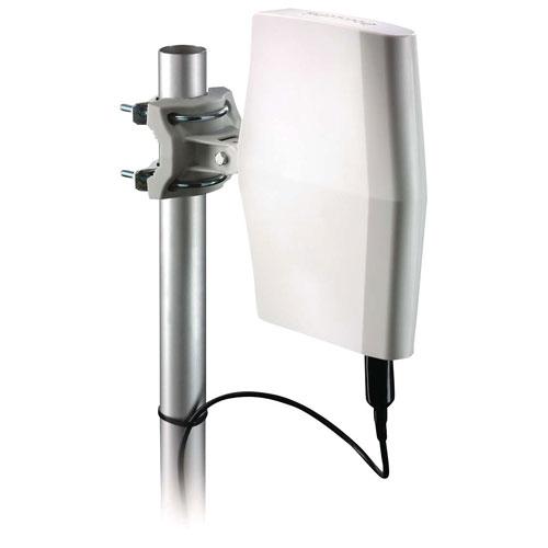 philips indoor outdoor amplified digital tv antenna. Black Bedroom Furniture Sets. Home Design Ideas