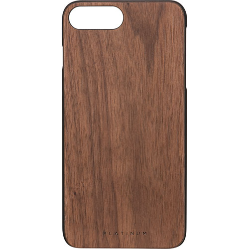 Platinum iPhone 7/8 Plus Fitted Hard Shell Case - Brown