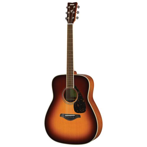 Guitare acoustique FG820 de Yamaha - Brown Sunburst