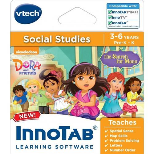 VTech InnoTab Software: Dora and Friends - Black