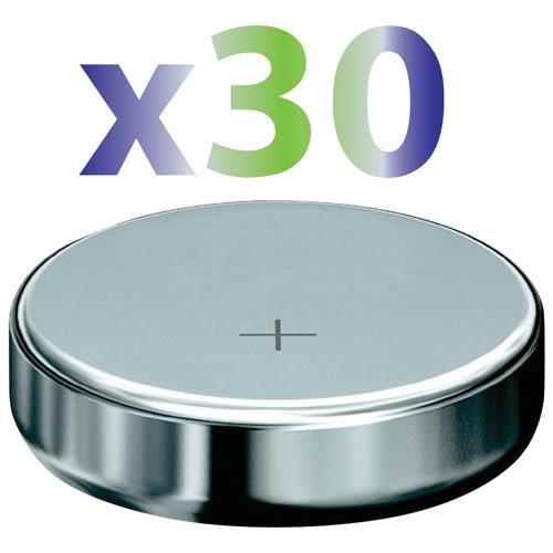 Pile de 1,5 V SR44 d'Exian (IB019-PK30) - Paquet de 30