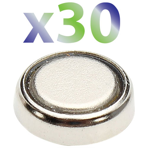 Pile 1,5 V SR60 d'Exian (IB020-PK30) - Paquet de 30